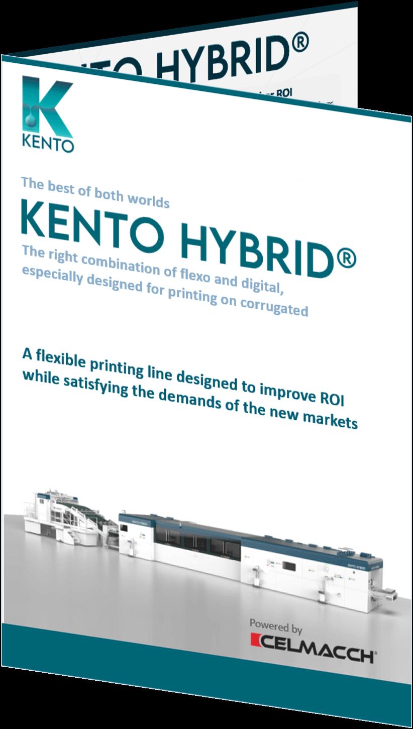 KENTO brochure display A4