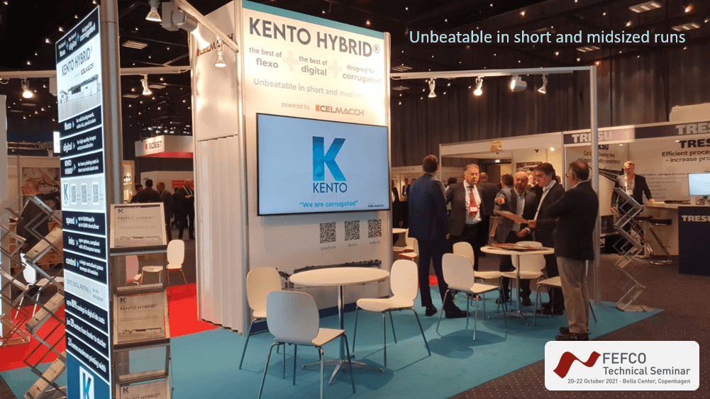 KENTO stand at FEFCO 2021